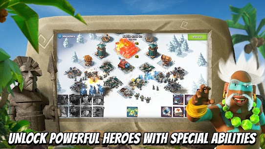 Boom Beach MOD APK (Unlimited Everything) 3