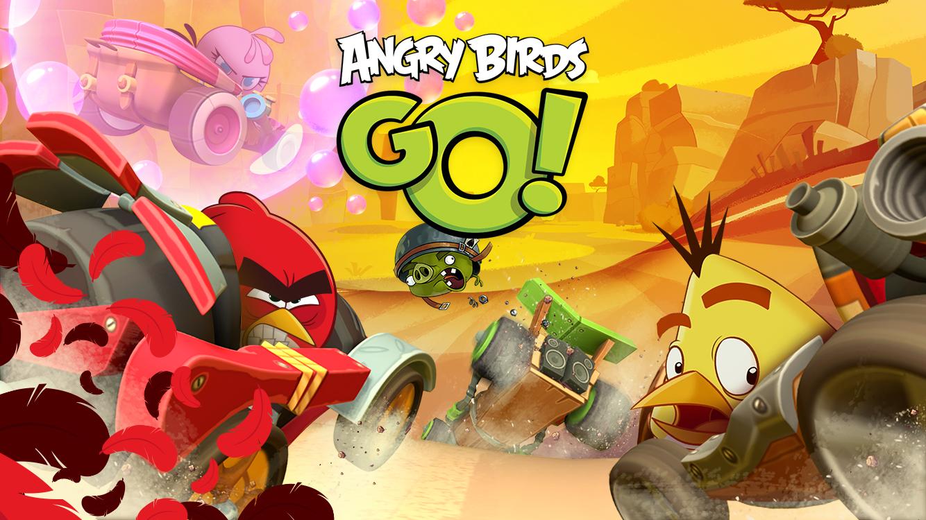 Angry Birds Go! screenshot #1
