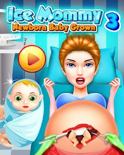 Ice Mommy Newborn - Baby Grown iii - náhled