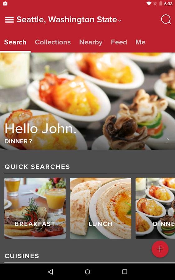 Zomato - Restaurant Finder- screenshot