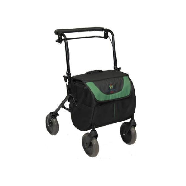 Rollator med shoppingbag