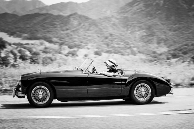 1958 MGA Convertible Hire San Bernardino