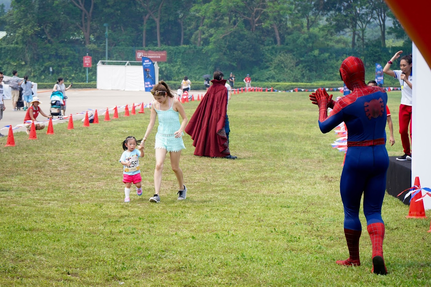 Spiderman 10k weekend