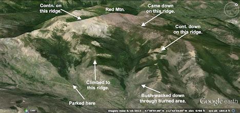 Photo: Summary of my 10-mile loop.