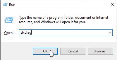 Buka RUN di Windows