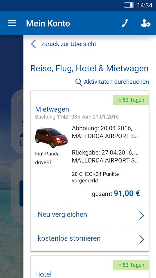Check24 Reisen Preisvergleich