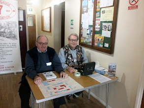 Photo: 001 Welcome to Corse! Nicholas Wheatley (coloured waistcoat) and colleague ready to let the 100 or so visitors who turned out for the day in .