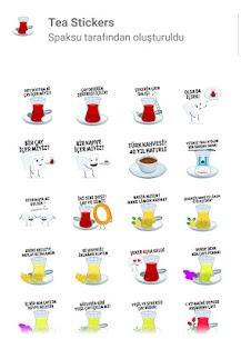 Tea Stickers for WA 1