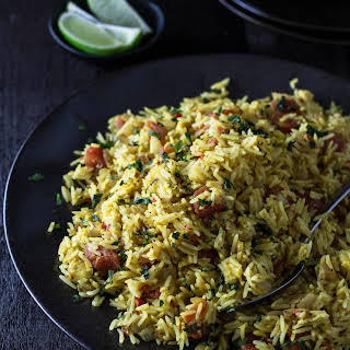 Indian-Spiced Fried Rice.