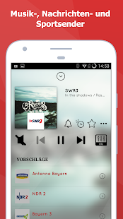 myTuner Radio DE Kostenlos - Radio Player App Screenshot