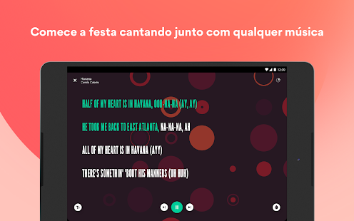 Musixmatch - Letras de Música Screenshot