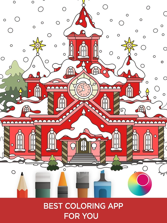 coloring book for adults color me coloring pages screenshot - Best Coloring Book App
