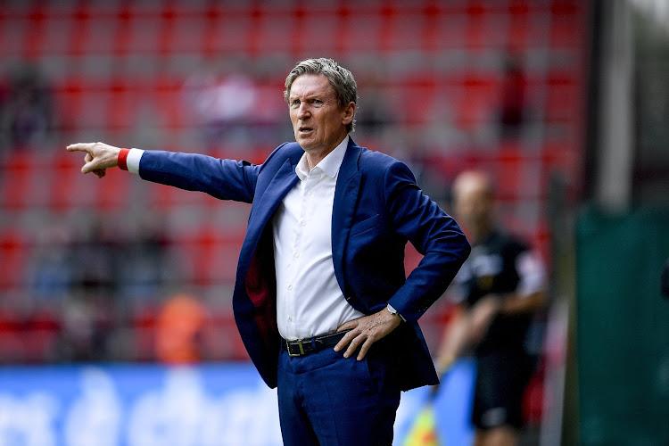 📷 Francky Dury lance la reprise avec Zulte Waregem