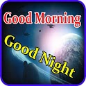 Good morning and night messages with images icon