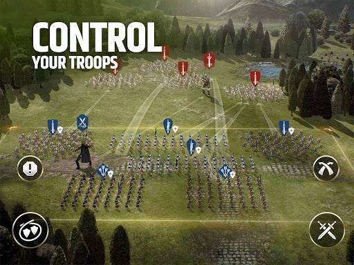 Dawn of Titans - Epic War Strategy Game  screenshots 8