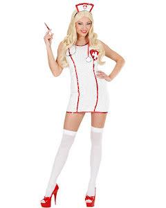 Paljettklänning, sjuksköterska