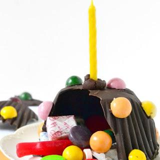 Chocolate Pinata Mini Cakes