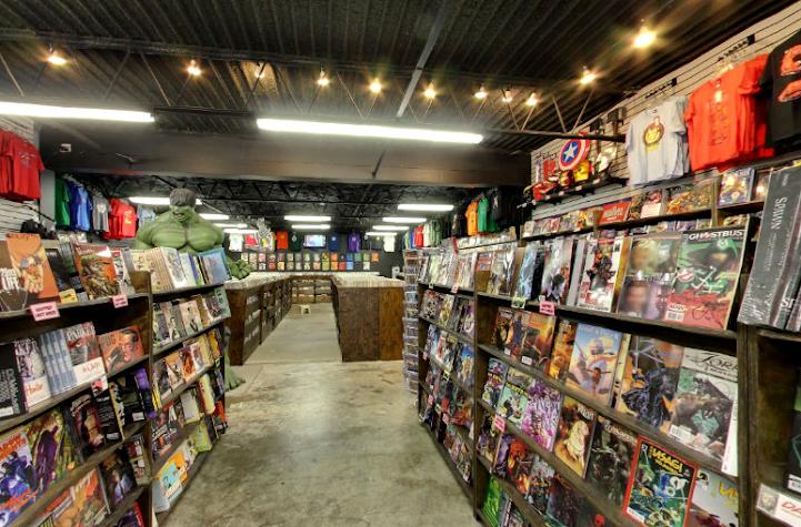 Comic Book Store Finder Screenshot