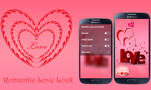 浪漫的愛情鎖屏