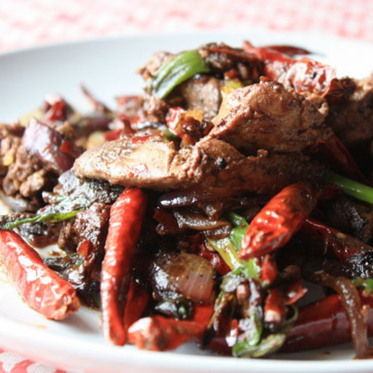 Stir-Fried Liver and Onions with Oyster Sauce