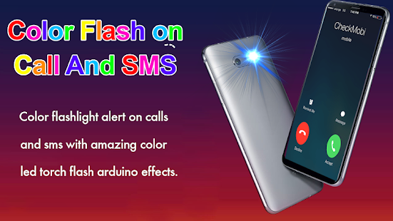 Color flashlight: Flash on call and sms alert – Apps on Google Play