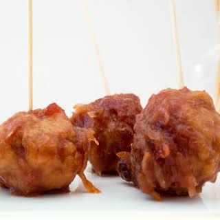 Damn Meatballs {Sweet + Sour}.