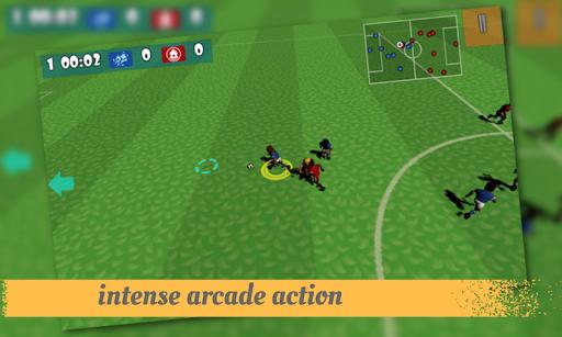 漫画サッカーゲームの3D
