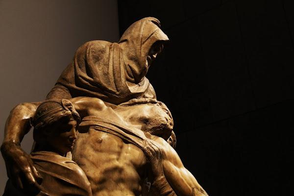Pietà Bandini, MIchelangelo di zaccagnaus