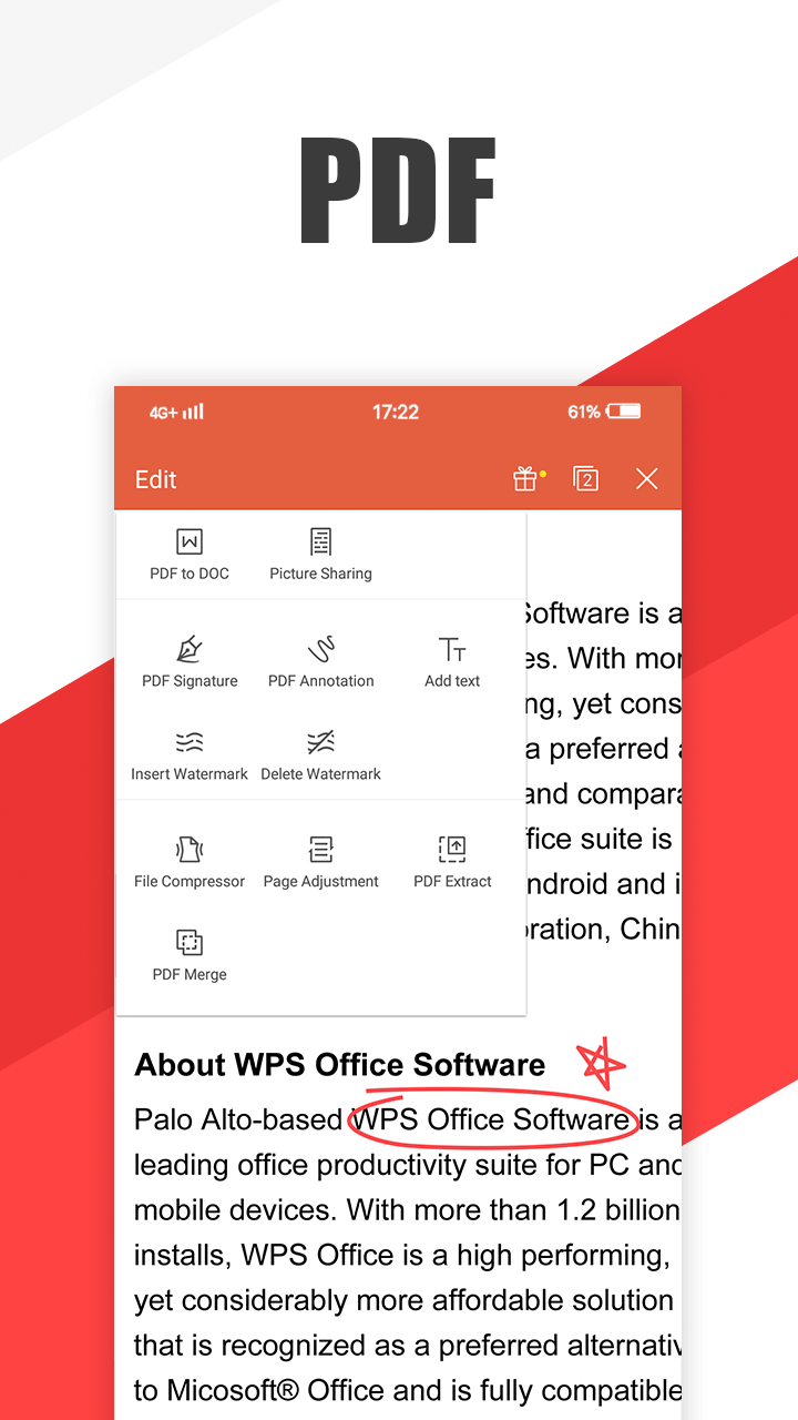 WPS Office - Word, Docs, PDF, Note, Slide & Sheet Screenshot 2