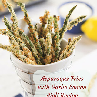 Asparagus Fries with Garlic Lemon Aioli