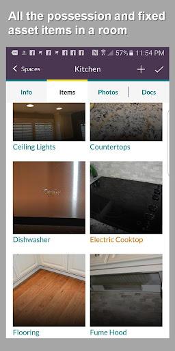 HomeZada Mobile screenshot