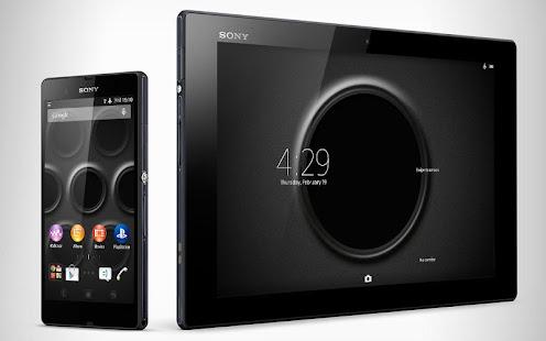 App XPERIA™ Black Steel Theme APK for Windows Phone