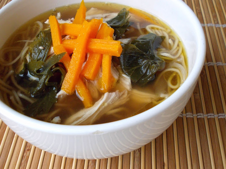 Chicken Soup In Asian Style