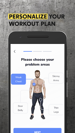 BetterMen: Workout Trainer for Android apk 2