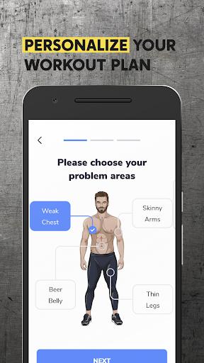 BetterMen: Workout Trainer 1.2.7 screenshots 2