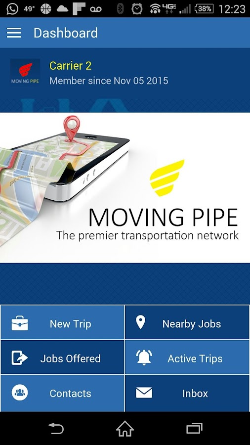 Moving Pipe- screenshot