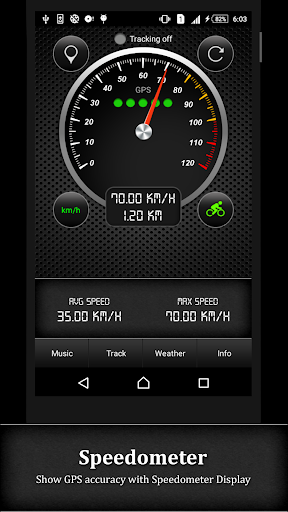 GPS Speedometer screenshot 2