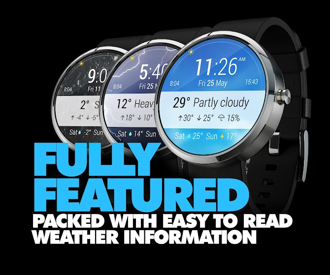 InstaWeather for Android Wear Android 5