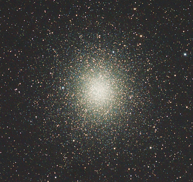 Photo: 05/02/2012 a crop of the previous image of Omega Centauri. A vast number of young stars.