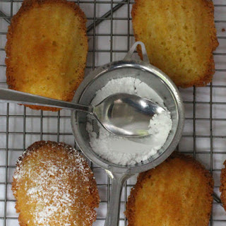 Ginger-Infused Madeleines