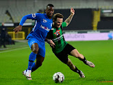 Dino Hotic scoorde een mooi doelpunt, maar was toch vooral teleurgesteld na de wedstrijd