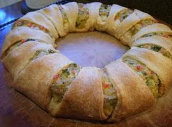 Chicken & Broccoli Ring Recipe