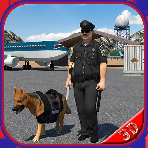模拟の空港警察犬デューティ LOGO-記事Game