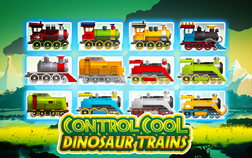 Dinosaur Park Train Race - náhled