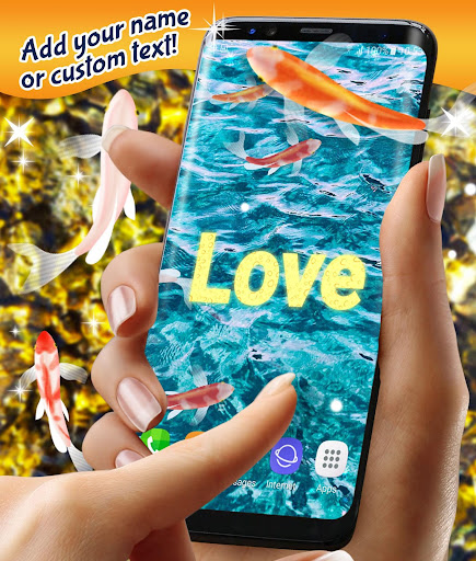 Koi Fish HD Live Wallpaper 4.8.4 screenshots 1