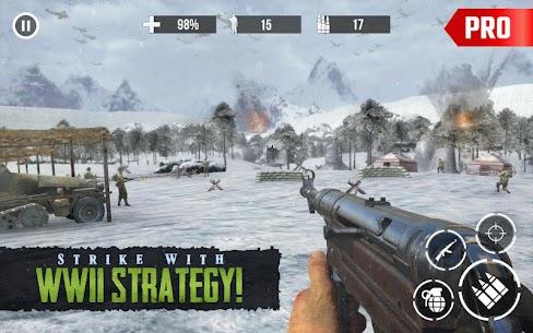 Call of Sniper Pro Apk: World War 2 Sniper Games 3