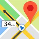 Maps Gps Navigation, Live Navigate Traffic Alerts icon