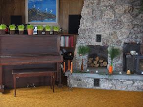 Photo: piano corner
