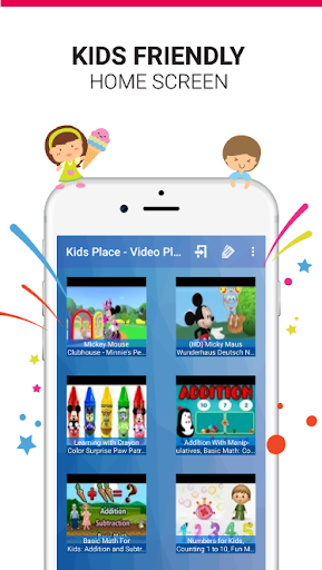 Kids Safe Video Player - YouTube Parental Controls 1.7.6 screenshots 2