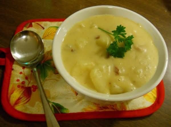Creamy Bacon Potato Soup Recipe